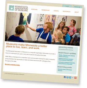 Minnesota Association of Museums website